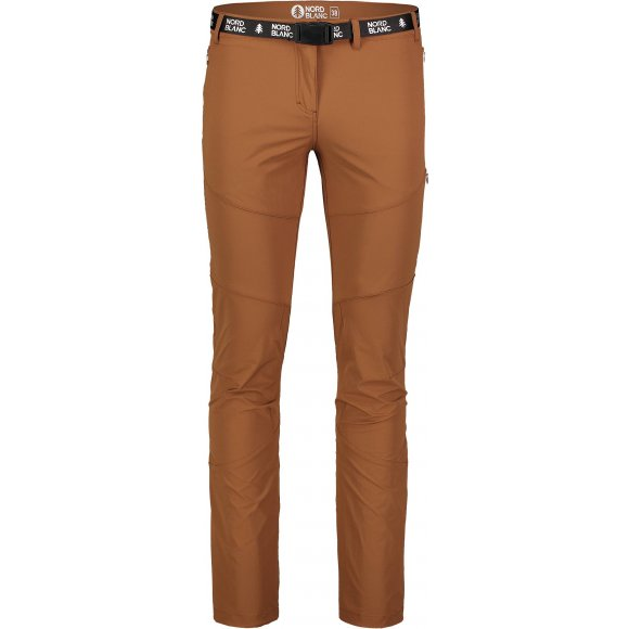 Dámské kalhoty NORDBLANC LIABLE NBSPL7130 HNĚDÁ