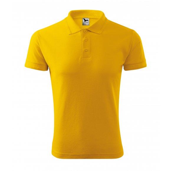 Pánské triko s límečkem MALFINI PIQUE POLO 203 ŽLUTÁ