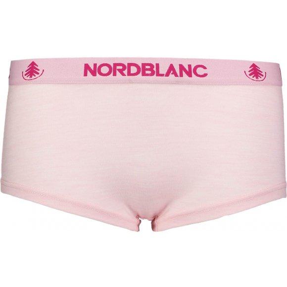 Dámské spodní prádlo MERINO NORDBLANC NBSPL6868 RŮŽOVÝ TULIPÁN