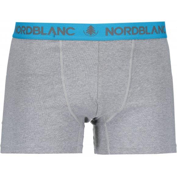 Pánské boxerky NORDBLANC NBSPM6866 TMAVĚ ŠEDÁ