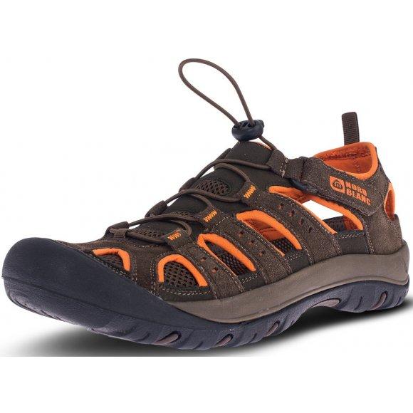 Pánské sandále NORDBLANC ORBIT NBSS70 HNĚDÁ