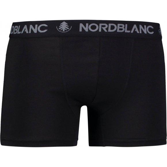 Pánské boxerky NORDBLANC NBSPM6866 CRYSTAL ČERNÁ