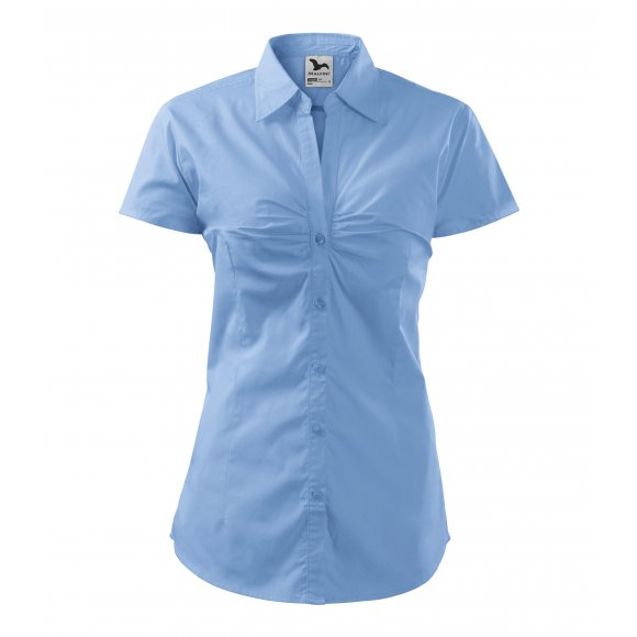 Dámská košile MALFINI CHIC 214 NEBESKY MODRÁ