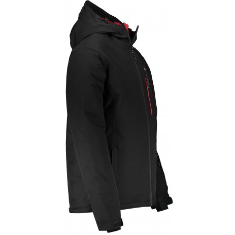 Pánská zimní bunda ALTISPORT LENIS MJCS467 ČERNÁ