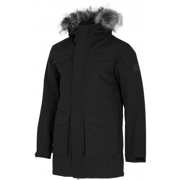 Pánská zimní bunda 4F D4Z20-KUM201 DEEP BLACK