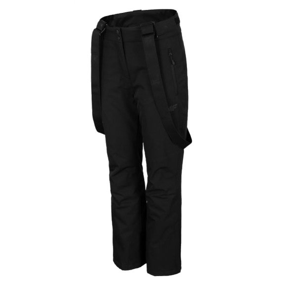 Dámské lyžařské kalhoty 4F D4Z20-SPDN300 DEEP BLACK