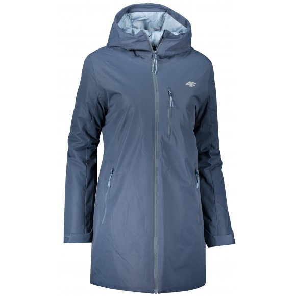 Dámský kabát 4F D4Z20-KUD302 DENIM