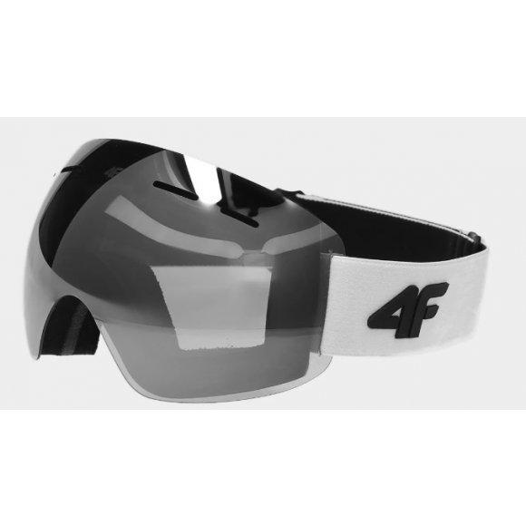 Dámské lyžařské brýle 4F D4Z20-GGD350 WHITE