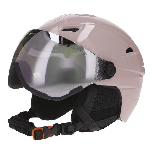 Lyžařská helma 4F D4Z20-KSD151 LIGHT PINK