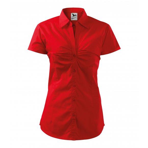Dámská košile MALFINI CHIC 214 ČERVENÁ