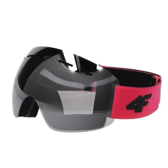 Dámské lyžařské brýle 4F D4Z20-GGD350 HOT PINK