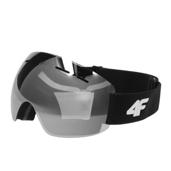 Dámské lyžařské brýle 4F D4Z20-GGD350 DEEP BLACK