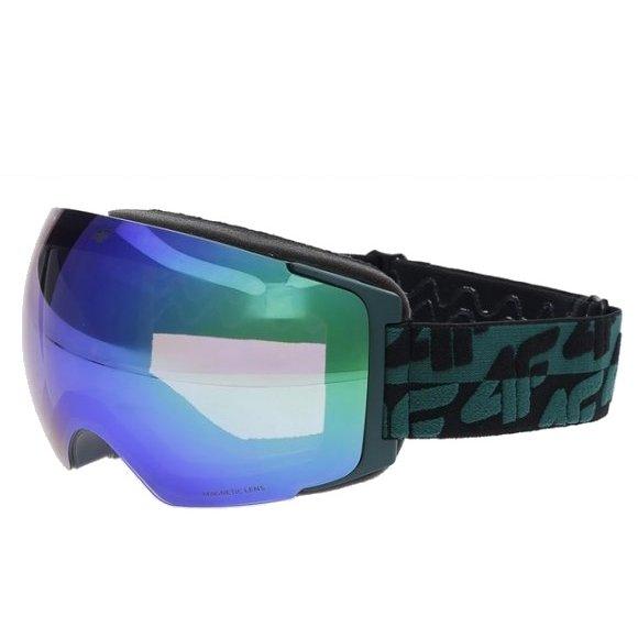 Pánské lyžařské brýle 4F D4Z20-GGM151M TEAL