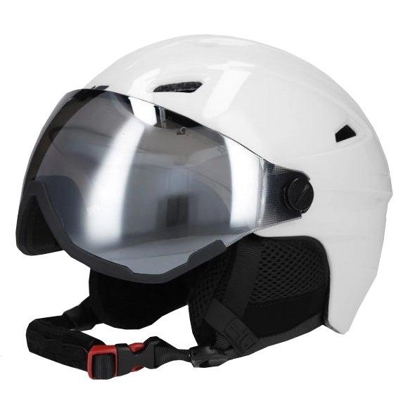 Lyžařská helma 4F D4Z20-KSD151 WHITE