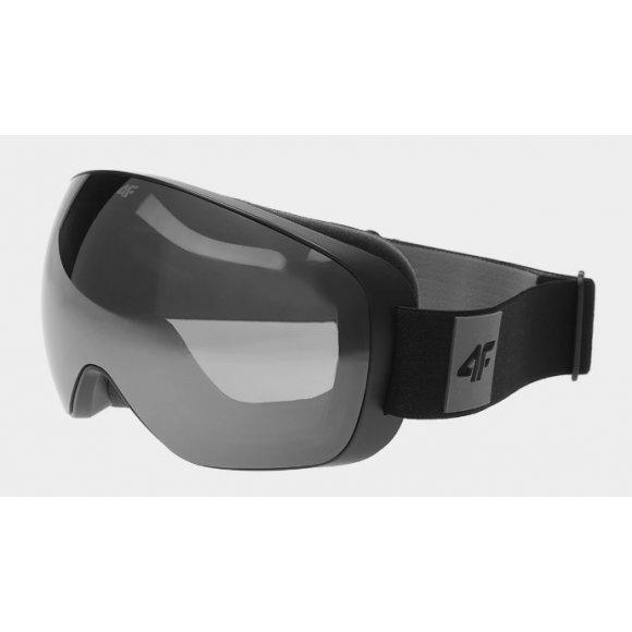 Pánské lyžařské brýle 4F D4Z20-GGM351 DEEP BLACK