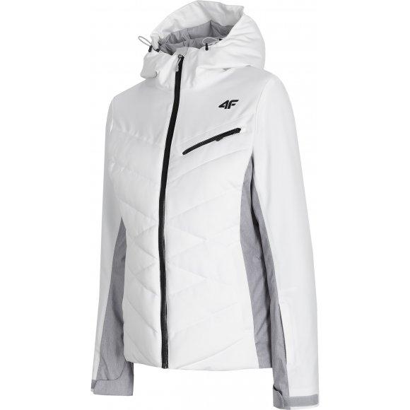 Dámská lyžařská bunda 4F D4Z20-KUDN256 WHITE