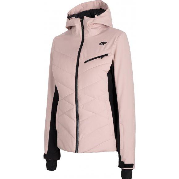 Dámská lyžařská bunda 4F D4Z20-KUDN256 LIGHT PINK