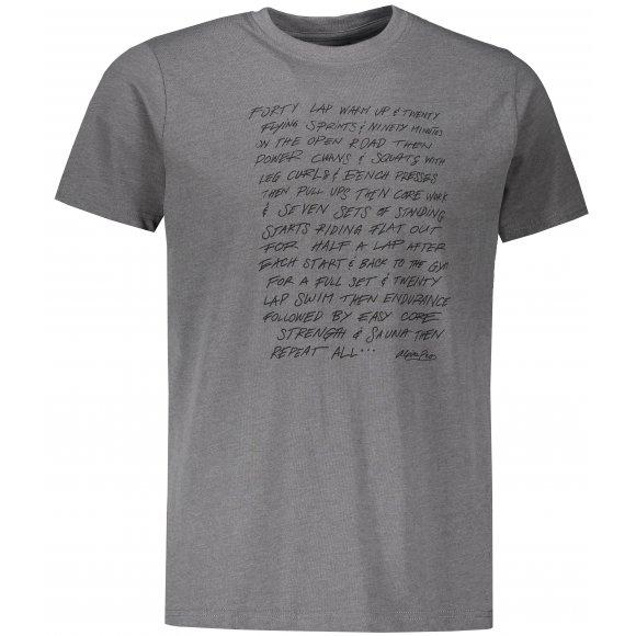 Pánské triko s krátkým rukávem ALPINE PRO SKULD MTSS520 ŠEDÁ