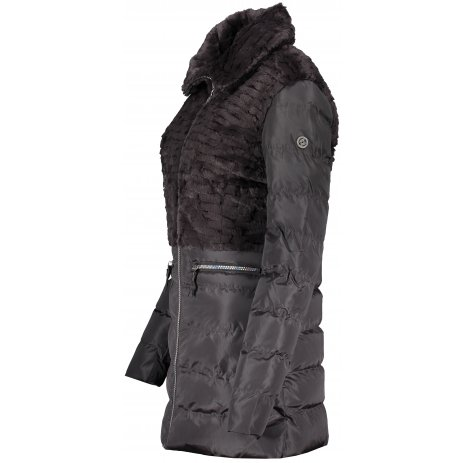 Dámský zimní kabát KIXMI KIMBERLY HNĚDÁ