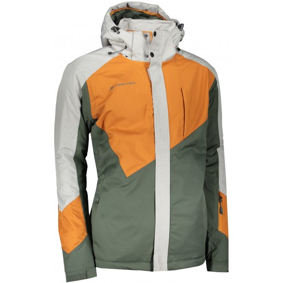 Pánská lyžařská bunda ALPINE PRO SARDAR 4 MJCS450 ORANŽOVÁ