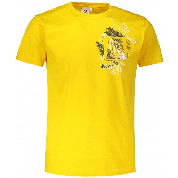 Pánské triko ALTISPORT ALM032129 ŽLUTÁ