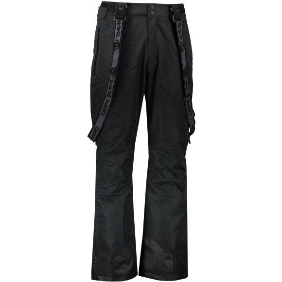 Pánské lyžařské kalhoty ALPINE PRO NUDD 6 MPAS475 ČERNÁ
