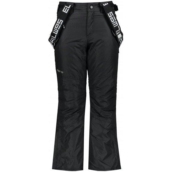 Dětské lyžařské kalhoty SAM 73 CAMPBELL KK 500 ČERNÁ