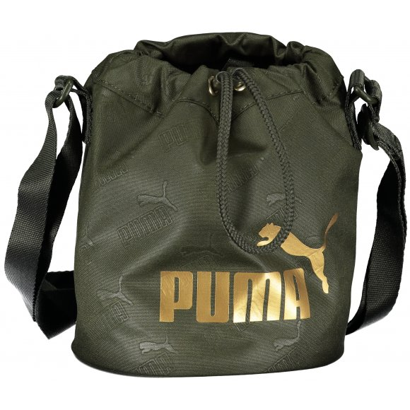 Dámská taštička PUMA WMN CORE UP SMALL BUCKET BAG FOREST NIGHT