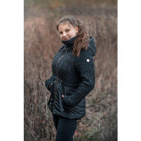 Dámská zimní bunda KIXMI KAITLYN ČERNÁ