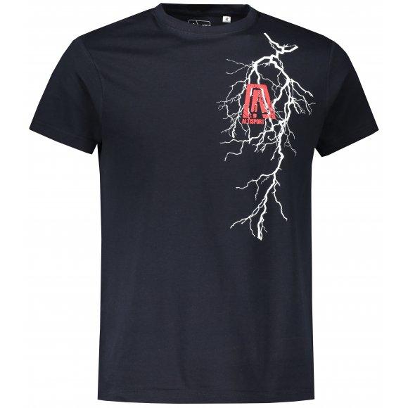 Pánské triko ALTISPORT ALM027F29 NÁMOŘNÍ MODRÁ