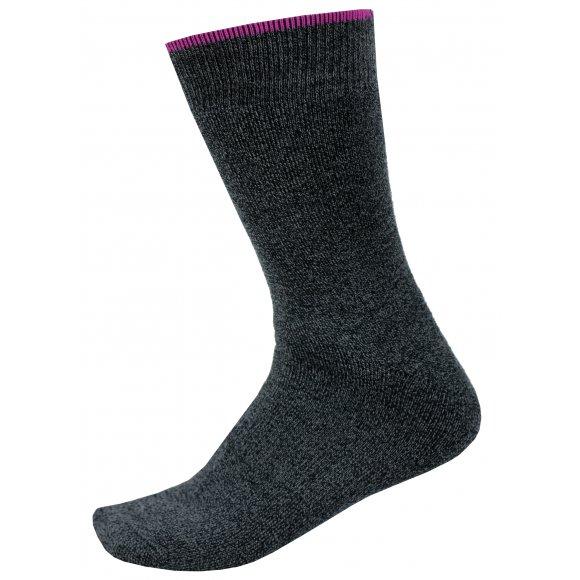 Ponožky ALPINE PRO OTHAR USCS058 TMAVĚ ŠEDÁ