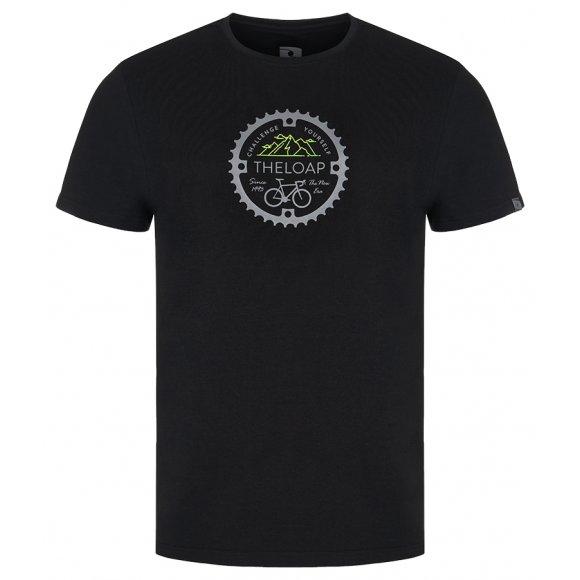 Pánské triko LOAP ALGER CLM2073 ČERNÁ