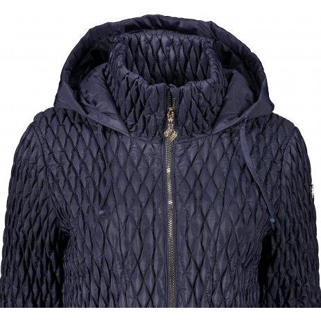 Dámská zimní bunda KIXMI KAITLYN TMAVĚ MODRÁ