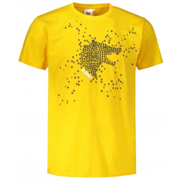 Pánské triko ALTISPORT ALM022129 ŽLUTÁ