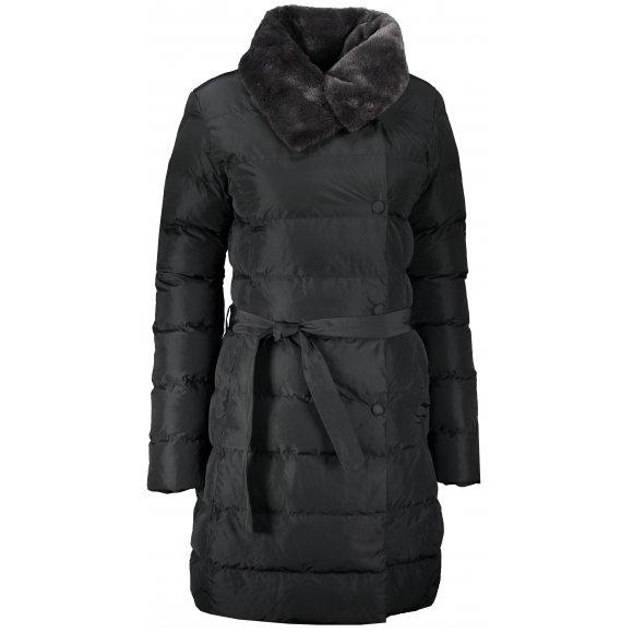 Dámský zimní kabát KIXMI KELSIE ČERNÁ