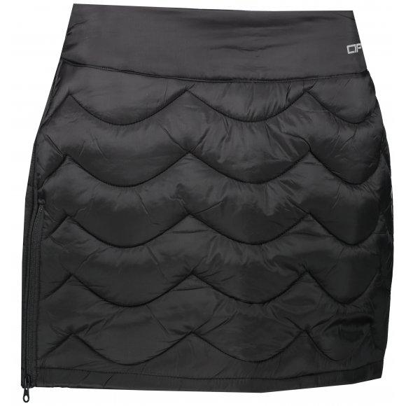 Dámská sukně ALPINE PRO CASITA LSKS279 ČERNÁ