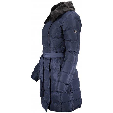 Dámský zimní kabát KIXMI KELSIE TMAVĚ MODRÁ