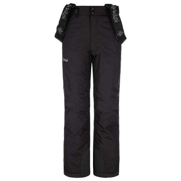 Dívčí lyžařské kalhoty KILPI ELARE-JG NJ0031KI ČERNÁ