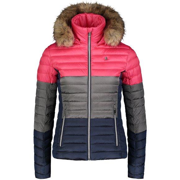 Dámská zimní bunda NORDBLANC BAR NBWJL6934 JEMNÁ RŮŽOVÁ
