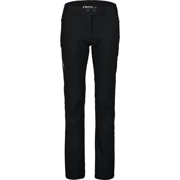 Dámské softshellové kalhoty NORDBLANC ARTFUL NBFPL7368 ČERNÁ