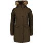 Dámský zimní kabát NORDBLANC NBWJL6941 ZELENÁ