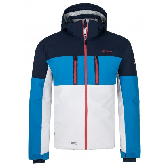 Pánská lyžařská bunda KILPI SATTL-M NM0032KI MODRÁ