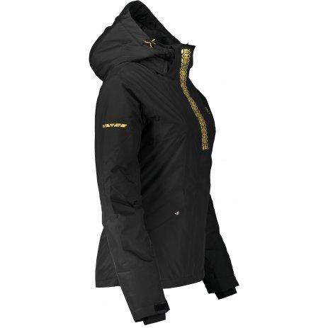 Dámská zimní bunda ALTISPORT ELOPA ČERNÁ