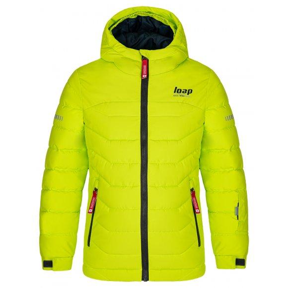 Dětská zimní bunda LOAP FUNKO OLK2009 SVĚTLE ZELENÁ