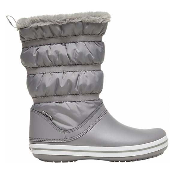 Dámské zimní boty CROCS CROCBAND BOOT W 206570-08D SMOKE