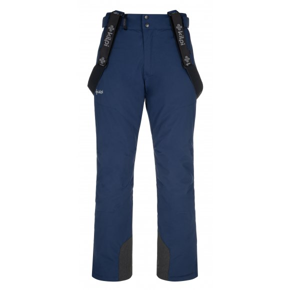 Pánské lyžařské kalhoty KILPI MIMAS-M NM0029KI TMAVĚ MODRÁ