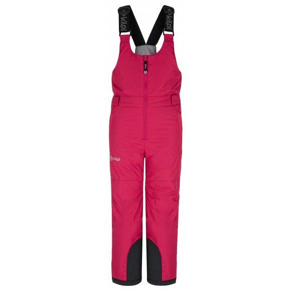 Dětské lyžařské kalhoty KILPI DARYL-J NJ0016KI RŮŽOVÁ