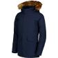 Dětská zimní bunda NORDBLANC NBWJK6946S TEMNÁ MODRÁ