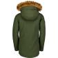 Dětská zimní bunda NORDBLANC NBWJK6946S ZELENÝ SAD