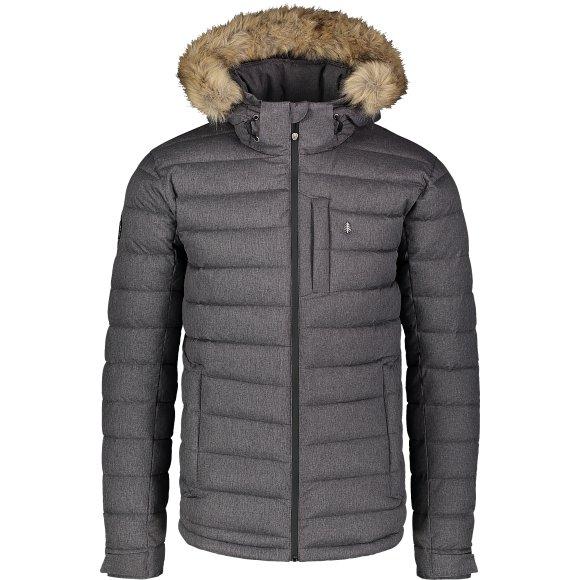 Pánská zimní bunda NORDBLANC STATIC NBWJM7307 GRAFITOVÝ MELÍR